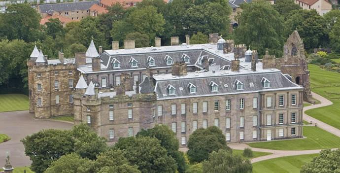 Foto de el palacio de holyroodhouse en edimburgo en reino for Interno kensington palace